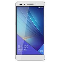 华为荣耀7移动4G(冰河银)双卡双待(PLK-TL00)(3GB RAM)(移动4G,银色)