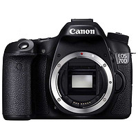 佳能(Canon)EOS 70D KIT数码单反相机 套机 (EF-S 18-200 IS)(机身)