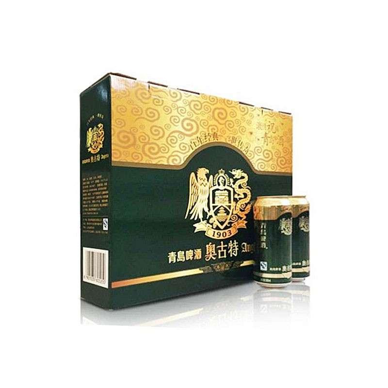 青岛(Tsingtao)啤酒奥古特12度500ml*12听