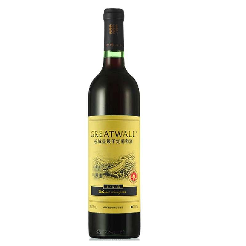 长城星级赤霞珠干红葡萄酒 750ml