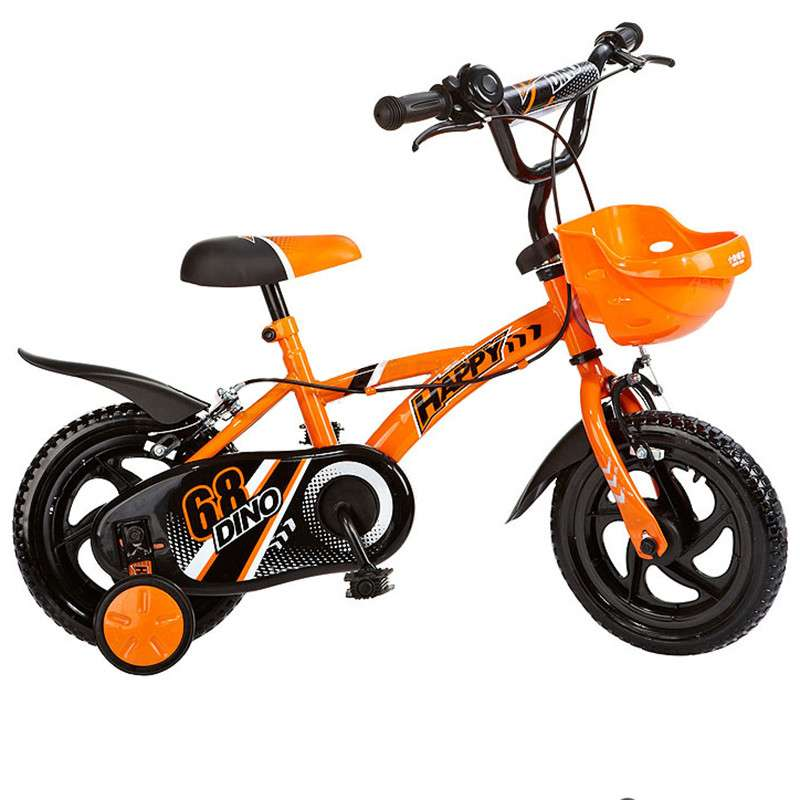 好孩子小龙哈彼儿童自行车脚踏车山地车单车置物蓝实心胎LB1230Q 桔色 12寸