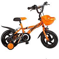 好孩子小龙哈彼儿童自行车脚踏车山地车单车置物蓝实心胎LB1230Q 桔色 12寸(12寸,桔色)