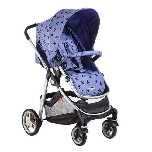 好孩子Goodbaby高景观双向推行强避震婴儿车坐躺一体防晒婴儿推车(紫色)