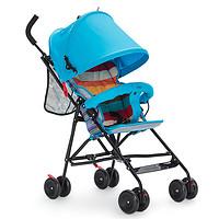CHBABY超轻便透气全蓬冬夏两用婴儿推车伞车(蓝色)