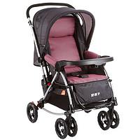 好孩子Goodbaby基本款安全型婴儿手推车双向全篷婴儿车(红色)