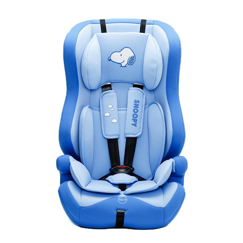 史努比SNOOPY儿童汽车安全座椅9个月-12岁守护系列