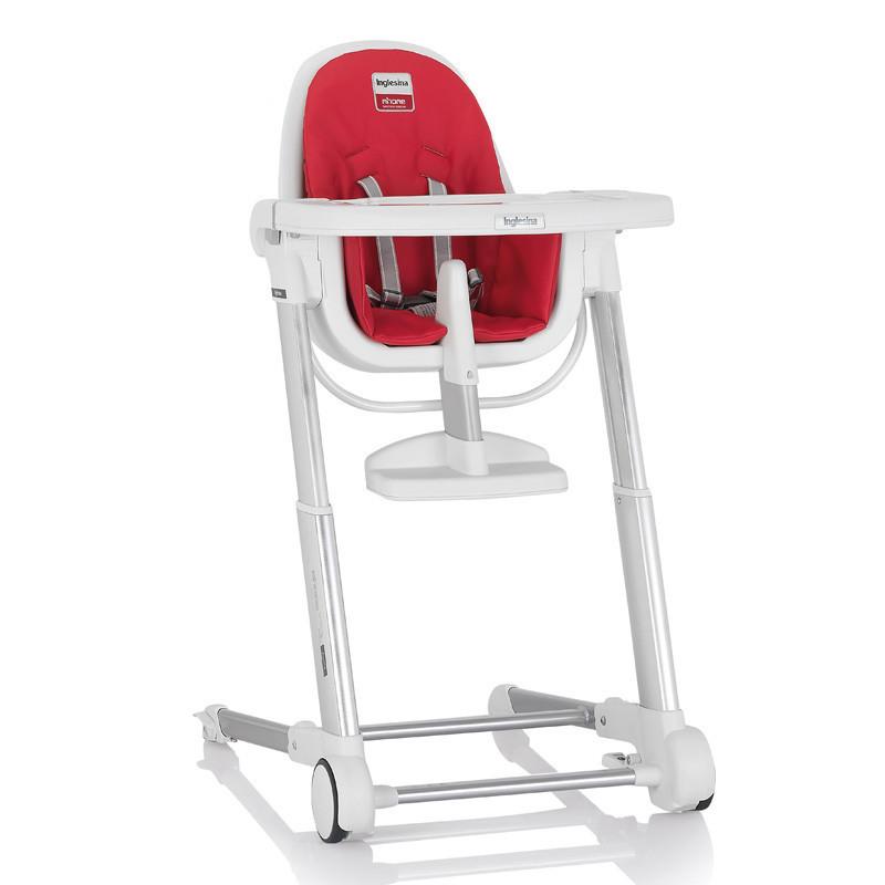 英吉利那Inglesina 多功能便携婴儿童餐椅可折叠组合高度可调带安全带祖玛餐椅