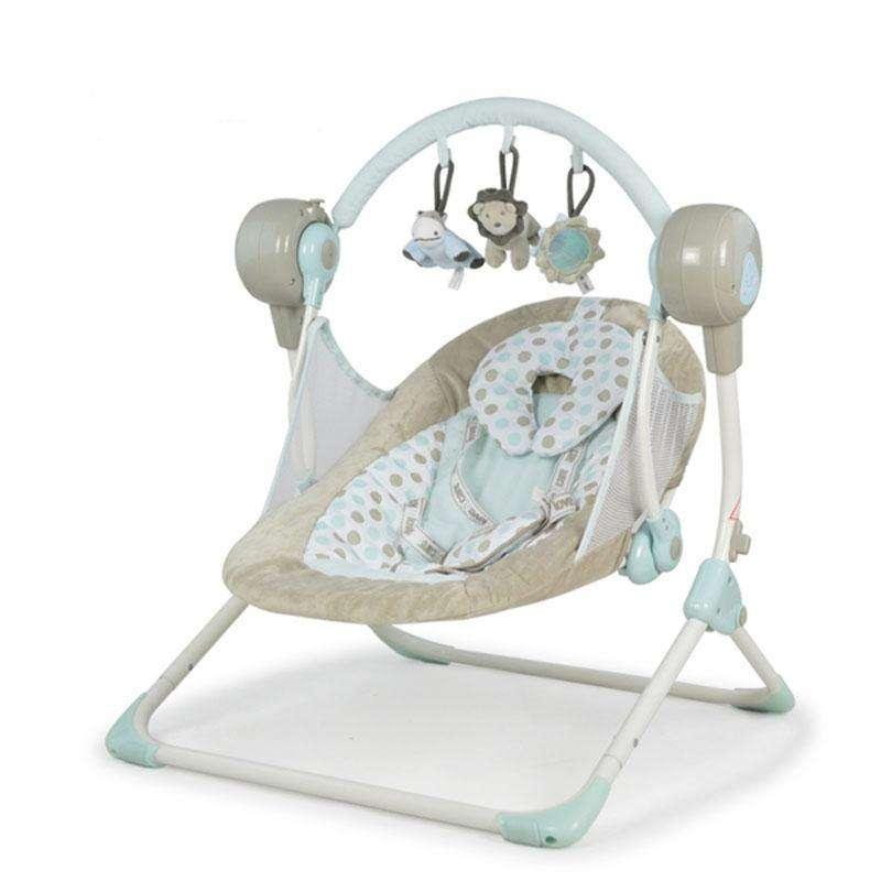 儿童电动秋千婴儿躺椅多功能安抚摇椅定时带音乐睡篮