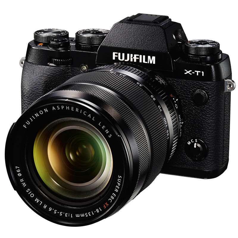 富士(FUJIFILM) X-T1 微单相机 黑色 XF18-135mm 套机
