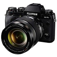 富士(FUJIFILM) X-T1 微单相机 黑色 XF18-135mm 套机(套机,黑色)