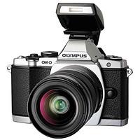 奥林巴斯(OLYMPUS) E-M5 微单相机 (12-50mm)(12-50mm套机,银色)