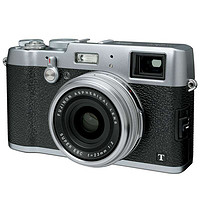 富士(FUJIFILM) X100T 数码旁轴相机 银色(银色)