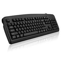 双飞燕 KB-8 USB有线电脑键盘台式 笔记本键盘(黑色)