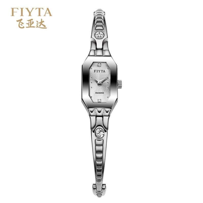 飞亚达(FIYTA) 玲珑系列宝石镶嵌进口机芯石英女表