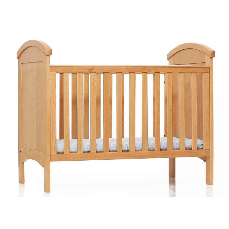 李贝儿高级全榉木婴儿木床 儿童木床