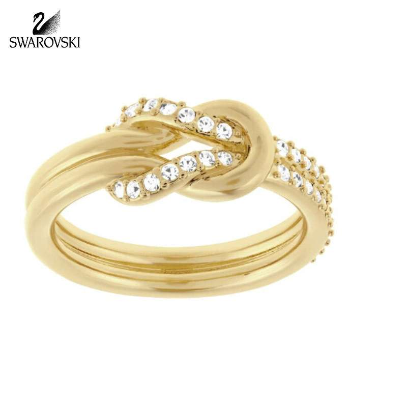 SWAROVSKI施华洛世奇 时尚限量结婚求婚礼品礼物礼盒高档气质高档求婚女式女士女款戒指指环对戒婚戒指环