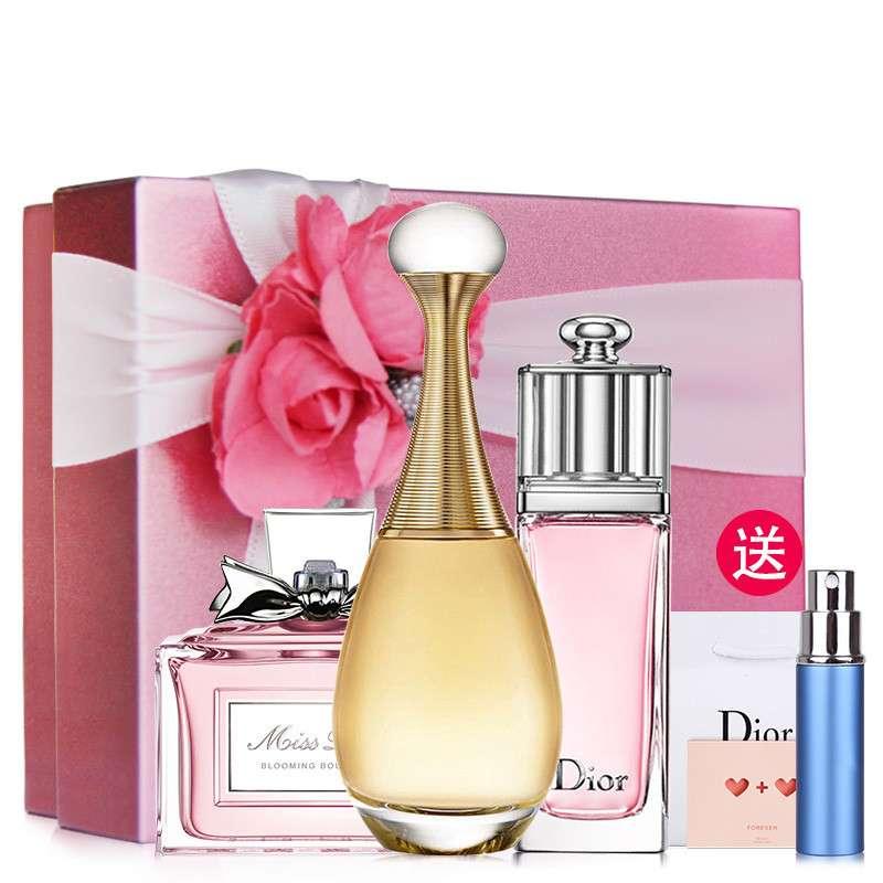 Dior/迪奥女士香水礼盒套装 三件套真我5ml+魅惑5ml+花漾5ml