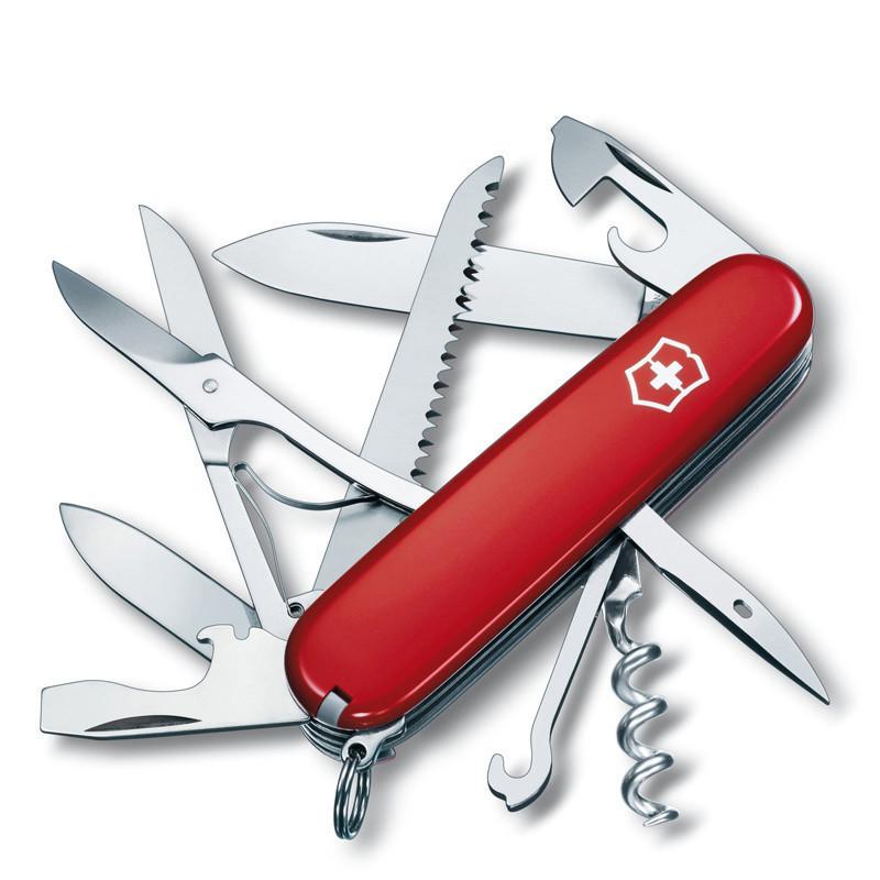 进口瑞士军刀维氏军刀 正品瑞士刀 91mm猎人1.3713 多功能刀