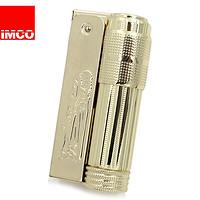 爱酷IMCO奥地利原装老式防风复古棉油打火机 6700西部经典全套镀金色(金色)