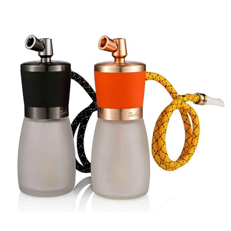 Zobo正牌水烟壶 玻璃阿拉伯烟袋水烟斗 可拆卸清洗型双重循环过滤烟具烟嘴