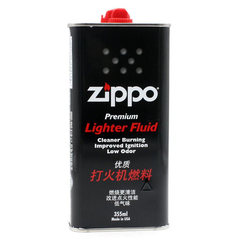 美国之宝ZIPPO防风打火机专用油 355ml大瓶实惠装 煤油打火机通用