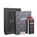 芝宝zippo打火机 新款专用礼盒套装(不含打火机)礼盒 手提袋(黑色)