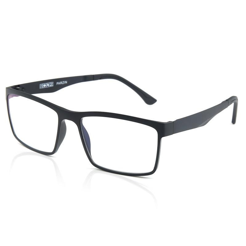 帕森 PARZIN 轻弹钨钛塑钢防辐射眼镜 时尚男女近视眼镜镜架镜框