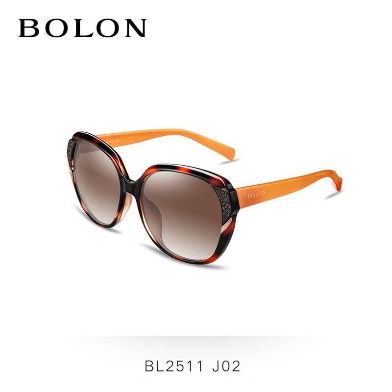 BOLON暴龙太阳镜女大框复古墨镜明星款开车偏光太阳眼镜潮