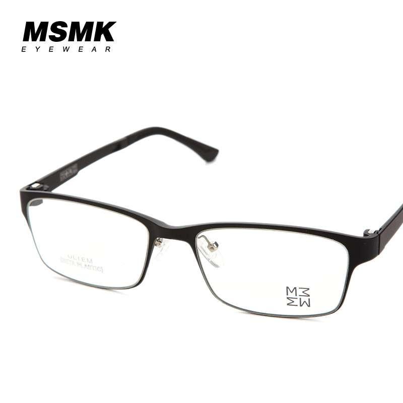 MSMK防辐射眼镜电脑镜男女款潮抗疲劳时尚平光护目可配近视镜
