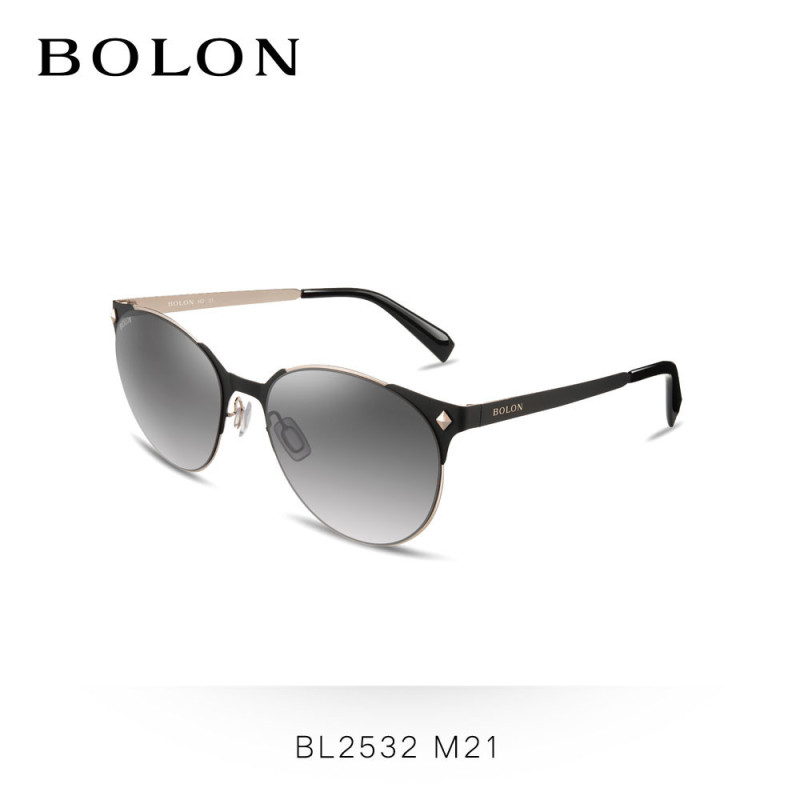 BOLON暴龙 2016新款女士偏光太阳镜简约复古司机眼镜墨镜